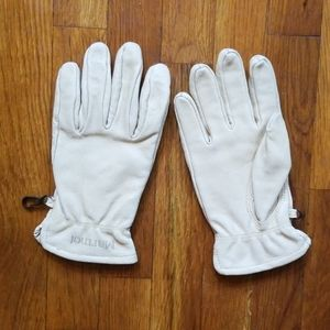 Marmot Leather Gloves